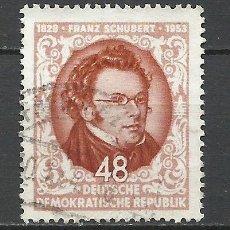 Sellos: ALEMANIA DDR - 1953 - MICHEL 404 - USADO. Lote 156960150