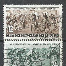 Sellos: ALEMANIA DDR - 1954 - MICHEL 426/427 - USADO. Lote 156960366