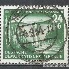 Sellos: ALEMANIA DDR - 1954 - MICHEL 431 - USADO. Lote 156960494