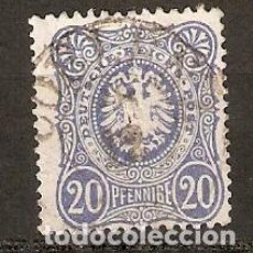 Sellos: ALEMANIA IMPERIO. 1875. YT 33. Lote 157009666