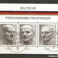 Sellos: ALEMANIA FEDERAL.1975. HB .YV 10. Lote 157283850