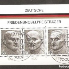 Sellos: ALEMANIA FEDERAL.1975. HB .YV 10. Lote 157283898