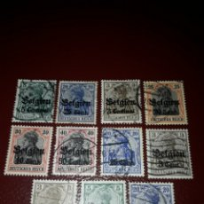 Sellos: LOTE DE 11 SELLOS IMPERIO ALEMÁN AÑO 1900.. Lote 157865797