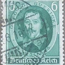 Sellos: SELLO DE ALEMANIA, TERCER REICH, 1936, YVERT 564** MICHEL 608** MNH, CIRCULADO.. Lote 157911070