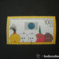 Sellos: ALEMANIA FEDERAL 1990 IVERT 1304 *** 10º EXPOSICION FILATELICA INTERNACIONAL DE LA JUVENTUD . Lote 158576478