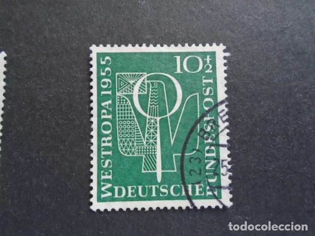 Sellos: ALEMANIA FEDERAL BRD , 1955, YVERT 93, MICHEL 217 - Foto 1 - 159922754