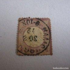 Sellos: ALEMANIA IMPERIO 1872 YVERT Nº 1 MATASELLADO. Lote 160014698