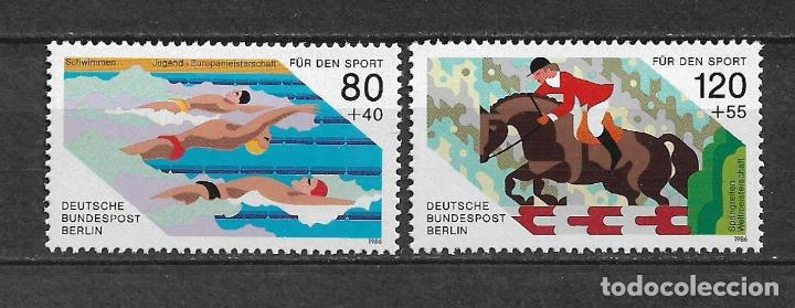 ALEMANIA BERLIN 1986 ** NUEVO - 17/26 (Sellos - Extranjero - Europa - Alemania)