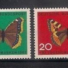Briefmarken - ALEMANIA 1962 ** NUEVO FAUNA MARIPOSAS - 4/29 - 160379302