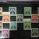 Sellos: ALEMANIA SERIE 12 SELLOS 1943 - III REICH. Lote 160733966