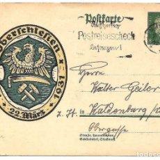Sellos: ALEMANIA REICH 1931 ENTERO POSTAL OBERSCHLERIEN AGUILA. Lote 160841374