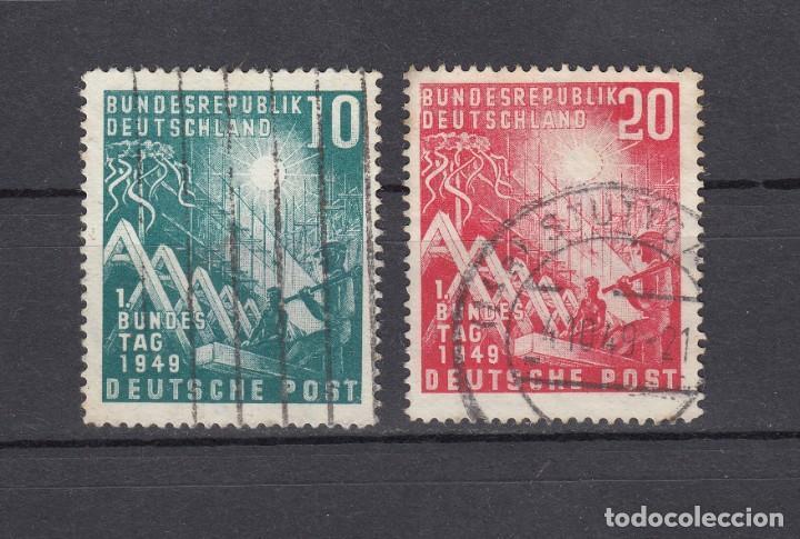 ALEMANIA FEDERAL.1949. YVERT 1/2. USADOS. (Sellos - Extranjero - Europa - Alemania)