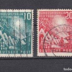 Francobolli: ALEMANIA FEDERAL.1949. YVERT 1/2. USADOS.. Lote 160844622