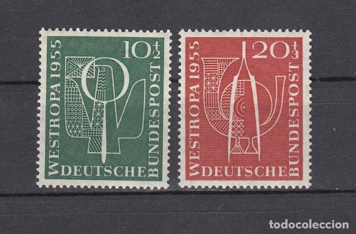 ALEMANIA FEDERAL.1955. YVERT 93/94. NUEVOS CON CHARNELAS. (Sellos - Extranjero - Europa - Alemania)