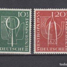 Sellos: ALEMANIA FEDERAL.1955. YVERT 93/94. NUEVOS CON CHARNELAS.. Lote 160996002