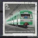 Sellos: ALEMANIA / RDA / DDR 1979 - TRENES - SELLO USADO. Lote 161086098