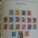 Sellos: SARRE, ALEMANIA OCUPACIÓN FRANCESA, 1947, YVERT 196-215 , 20 VALORES, SERIE COMPLETA. Lote 161343538