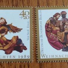 Sellos: ALEMANIA(BERLÍN) : NAVIDAD 1989 MNH. Lote 162953142