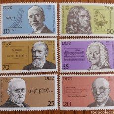 Sellos: ALEMANIA DDR: AÑO 1981MNH, MÚSICA, CIENCIAS, ARTE, POESIA. Lote 163033498