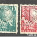 Sellos: YT 1-2 ALEMANIA 1949. Lote 163792590