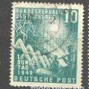 Sellos: YT 1 ALEMANIA 1949. Lote 163792650