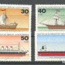 Sellos: YT 505-08 BERLIN-ALEMANIA 1977 COMPLETA. Lote 164839322
