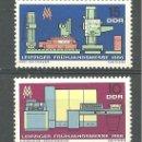 Sellos: YT 856-57 DDR (ALEMANIA ORIENTAL) 1966 . Lote 164845006