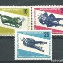 Sellos: YT 853-55 DDR (ALEMANIA ORIENTAL) 1966 . Lote 164845110