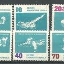 Sellos: YT 620-25 DDR (ALEMANIA ORIENTAL) 1962 COMPLETA. Lote 164845450