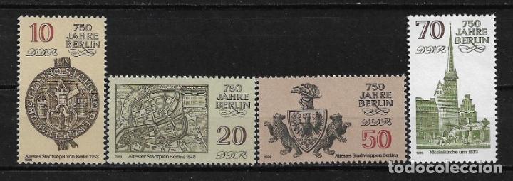 ALEMANIA DDR 1986 ** NUEVO - 5/29 (Sellos - Extranjero - Europa - Alemania)