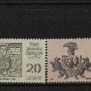 Sellos: ALEMANIA DDR 1986 ** NUEVO - 5/29. Lote 164904682