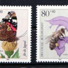 Briefmarken - ALEMANIA 1984 ** NUEVO FAUNA - 5/29 - 164905402
