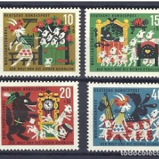 Sellos: YT 280-83 ALEMANIA 1963. Lote 211573222