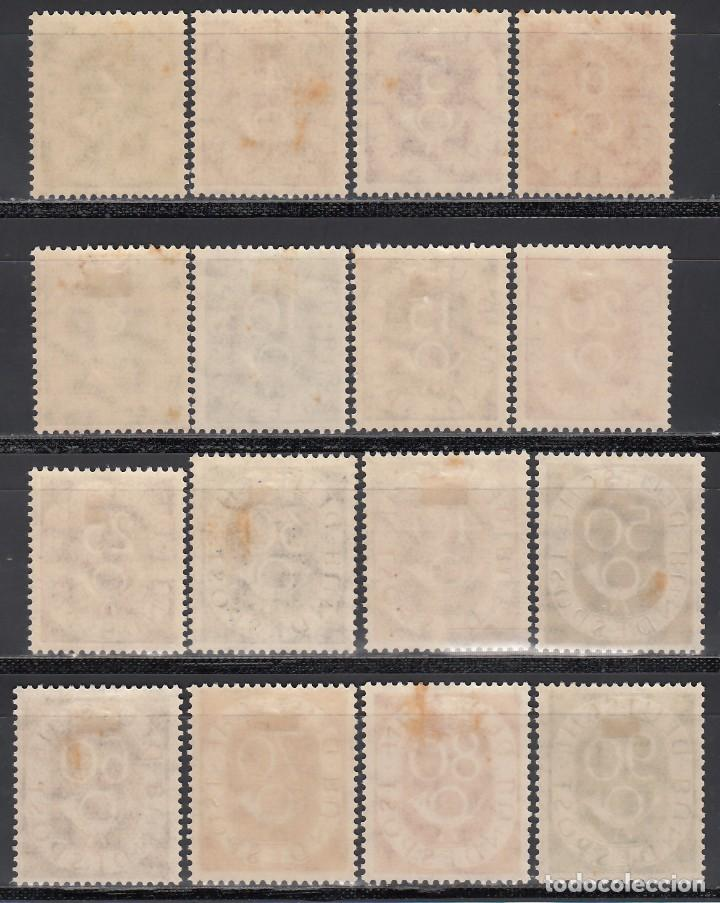 Sellos: ALEMANIA, 1951-1952 YVERT Nº 9 / 24 /*/ - Foto 2 - 166943692