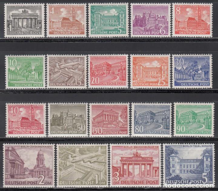 BERLIN, 1949 YVERT Nº 28 / 46 **/* (Sellos - Extranjero - Europa - Alemania)