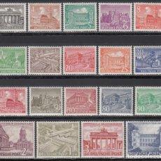 Sellos: BERLIN, 1949 YVERT Nº 28 / 46 **/*. Lote 168296240