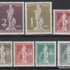 Sellos: BERLIN, 1949 YVERT Nº 21 / 27 **/*. Lote 168296764