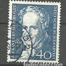 Sellos: YT 180 ALEMANIA 1959. Lote 169736218
