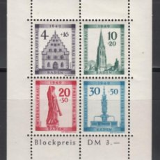 Sellos: ZONA FRANCESA, BADEN, 1949 YVERT Nº HB 2A /*/ . Lote 170887420