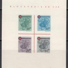 Sellos: ZONA FRANCESA, RENANIA - PALATINADO, 1949 YVERT Nº HB 1 (*). Lote 170889950