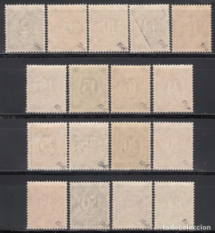 Sellos: ALEMANIA, BIZONA, 1948 YVERT Nº 20 A / 20 S, **/*, SOBRECARGA TIPO I - Foto 2 - 170984068
