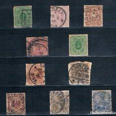 Sellos: IMPERIO ALEMAN 1875/1900 CONJUNTO DE 10 SELLOS USADOS VER DESCRIPCIÓN FOTOGRAFÍA. Lote 171147955
