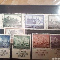 Francobolli: OCUPACION NAZI EN POLONIA GOBIERNO GENERAL AÑOS 1941 Y 1942 LOTE N.416. Lote 171250577
