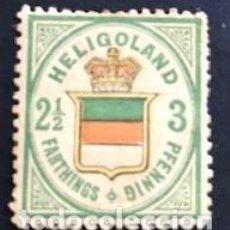 Sellos: SELLOS HELIGOLAND (ALEMANIA) AÑO 1867 2 Y 1/2 PENNING Nº-17 CATG . Lote 171766558