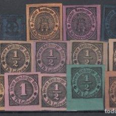 Francobolli: ALEMANIA, LOTE DE SELLOS LOCALES, . Lote 175271909