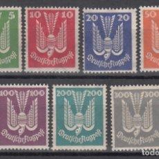 Sellos: ALEMANIA IMPERIO, AÉREO 1924 YVERT Nº 20 / 26 /*/. Lote 175273064