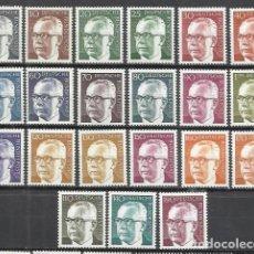 Sellos: G850A-ALEMANIA BERLIN LAS 3 SERIES COMPLETAS MNH** NUEVOS 1970 33,50€ FOTO REAL Nº339/52.TODOS.. Lote 175568178