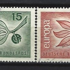 Sellos: ALEMANIA FEDERAL 1965 - EUROPA, S.COMPLETA - SELLOS USADOS. Lote 176635620