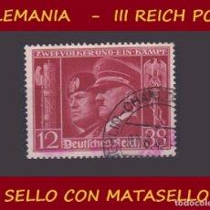 Sellos: LOTE SELLO DEL III REICH ALEMAN, PARTIDO NAZI / WW II / HITLER. Lote 176805402
