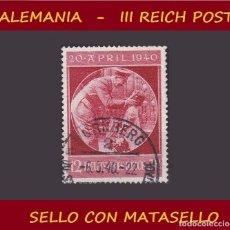 Sellos: LOTE SELLO DEL III REICH ALEMAN, PARTIDO NAZI / HITLER / ESVASTICA. Lote 176805497